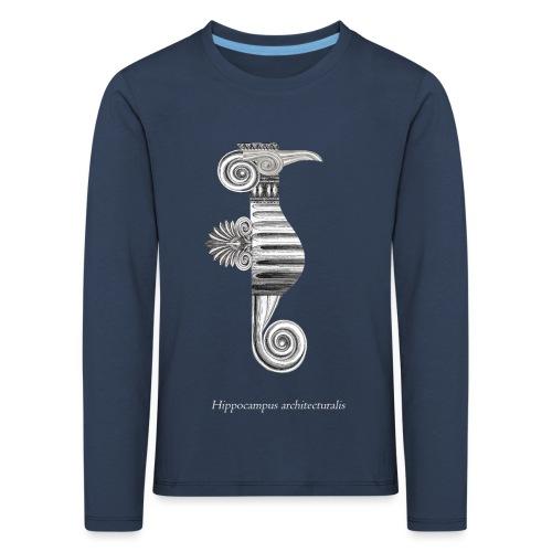 hippocampus architecturalis (épuré) - T-shirt manches longues Premium Enfant