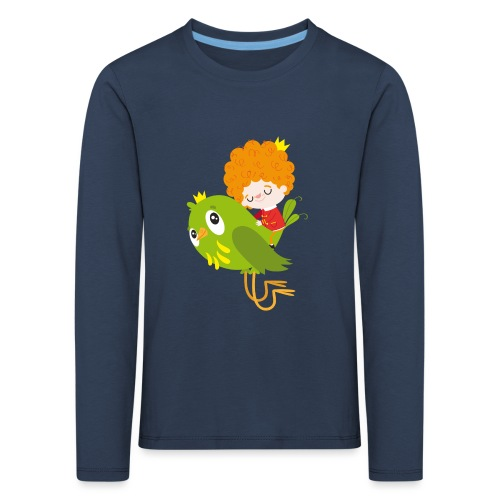 Nando flying - Kids' Premium Longsleeve Shirt