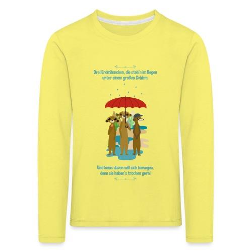 Erdmännchen - Kinder Premium Langarmshirt