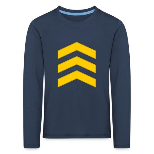 Kersantti - Lasten premium pitkähihainen t-paita