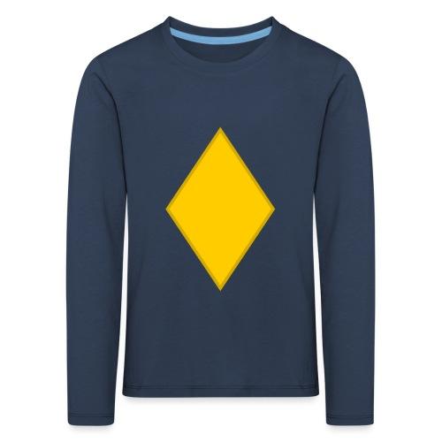 Upseerioppilas - Lasten premium pitkähihainen t-paita