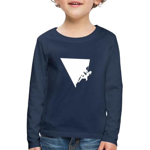 Klettern in Leonidio - Kinder Premium Langarmshirt