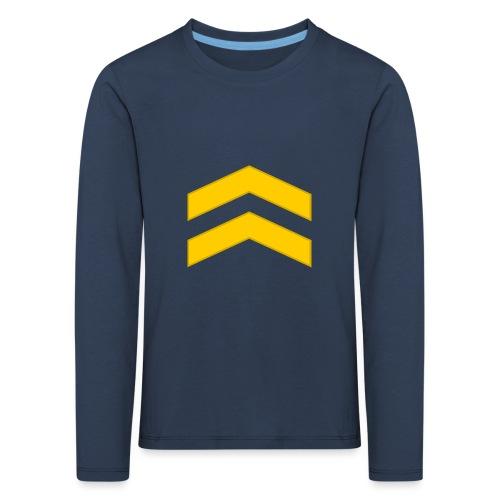 Alikersantti - Lasten premium pitkähihainen t-paita