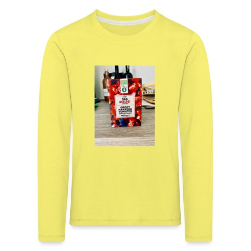 Tomato - Børne premium T-shirt med lange ærmer