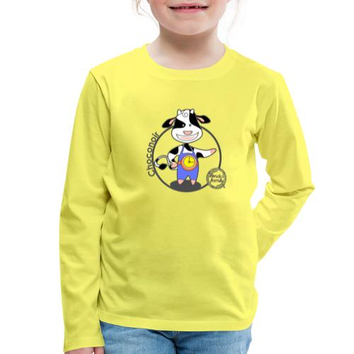 FF CHOCONOIR 01 - Kinder Premium Langarmshirt