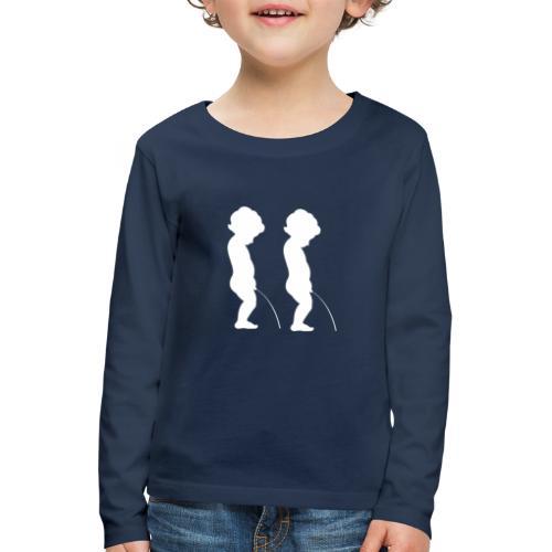 whiteman - T-shirt manches longues Premium Enfant