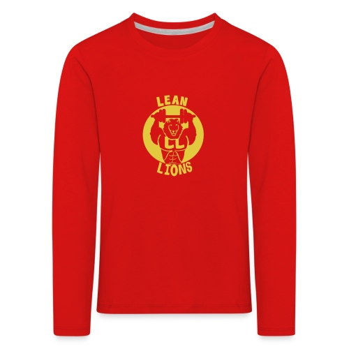 Lean Lions Merch - Kids' Premium Longsleeve Shirt