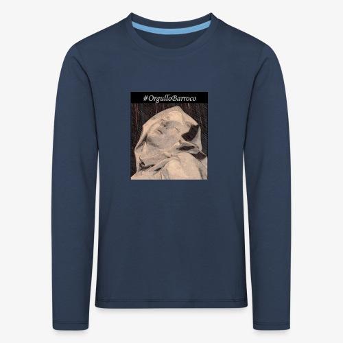 #OrgulloBarroco Teresa dibujo - Camiseta de manga larga premium niño