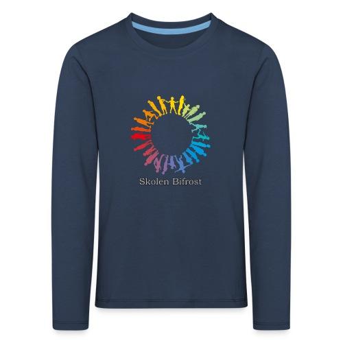 Skolen Bifrost - Børne premium T-shirt med lange ærmer