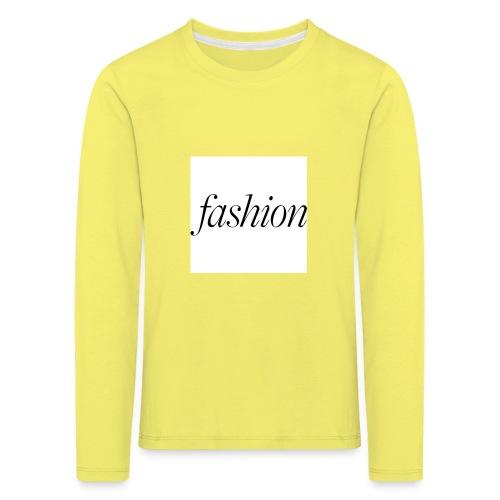 fashion - Kinderen Premium shirt met lange mouwen