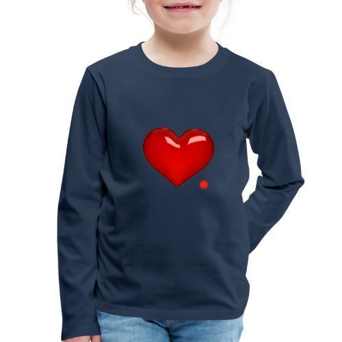 Love - Maglietta Premium a manica lunga per bambini