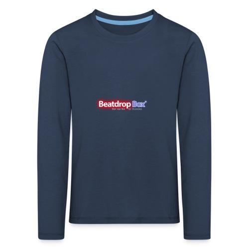 beatdropbox logo final and hires - Kinderen Premium shirt met lange mouwen