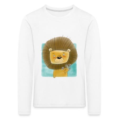 freundlicher Löwe - Kinder Premium Langarmshirt