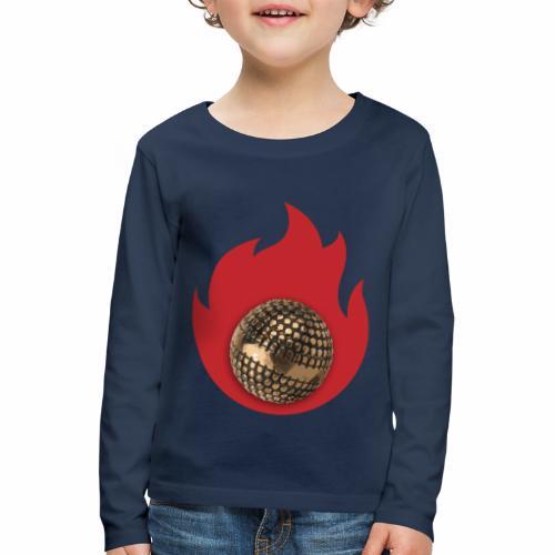 petanque fire - T-shirt manches longues Premium Enfant