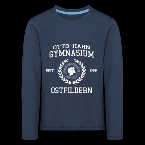CLASSIC DESIGN - Kinder Premium Langarmshirt
