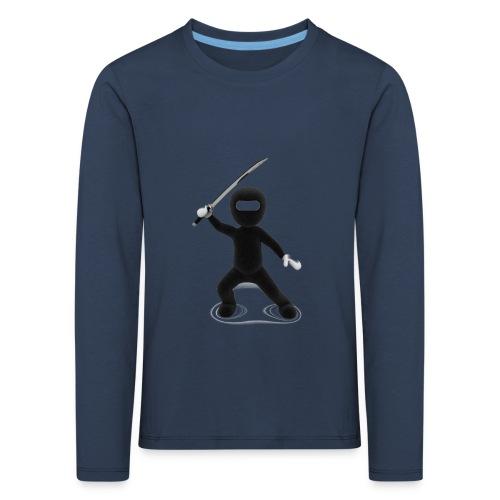 Ninja - T-shirt manches longues Premium Enfant
