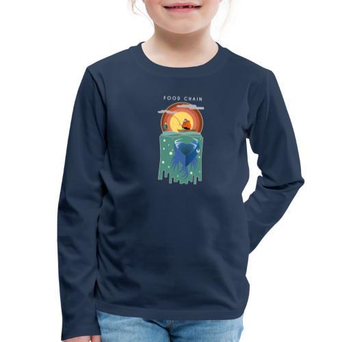 Food chain - T-shirt manches longues Premium Enfant