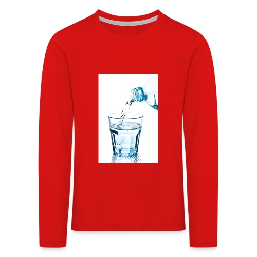Glas-water-jpg - Kinderen Premium shirt met lange mouwen