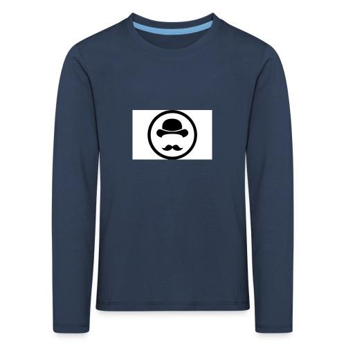 Bigote Logo La Trompa - Camiseta de manga larga premium niño
