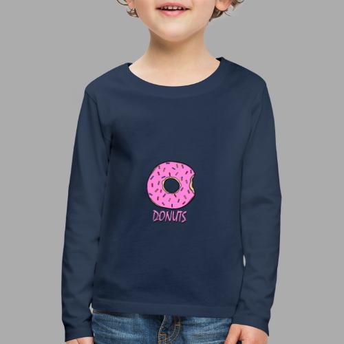 DONUTS - Camiseta de manga larga premium niño