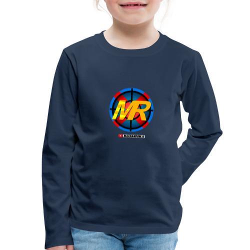 Logo MR - Maglietta Premium a manica lunga per bambini