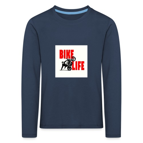 KEEP IT BIKELIFE - Kids' Premium Longsleeve Shirt