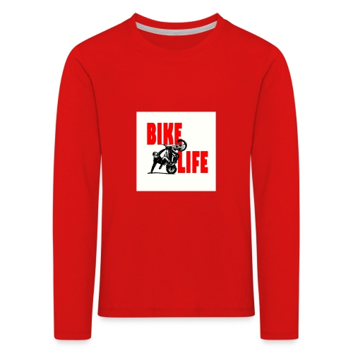 KEEP IT BIKELIFE - Kids' Premium Longsleeve Shirt