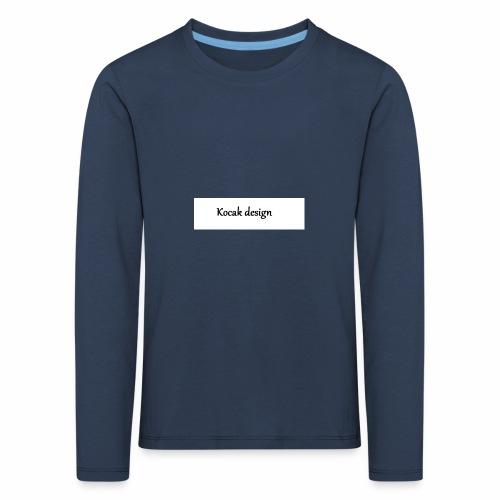 Kocak design - Børne premium T-shirt med lange ærmer