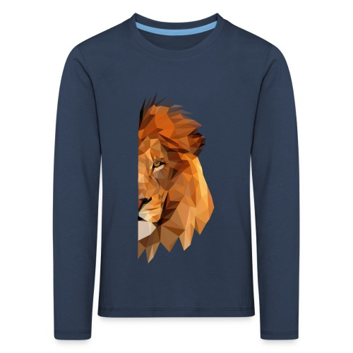 LION - MINIMALISTE - T-shirt manches longues Premium Enfant