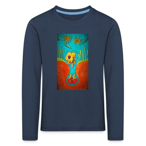 Kotelo - Lasten premium pitkähihainen t-paita