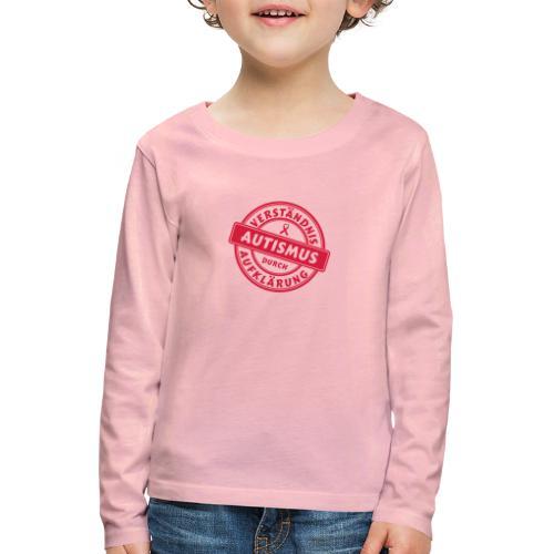 Verständnis durch Aufklärung - Kinder Premium Langarmshirt