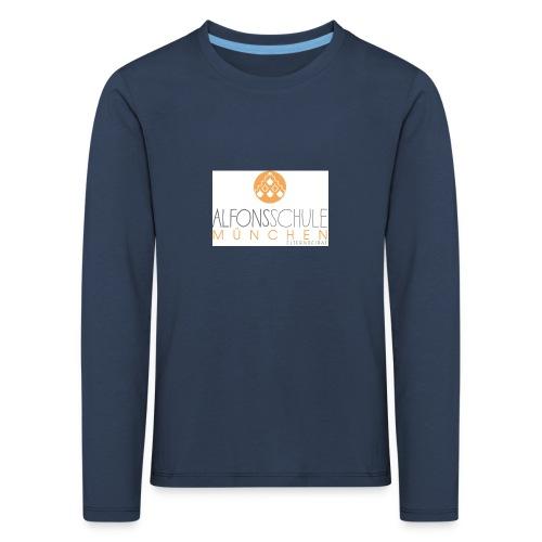 logo-alfonsschule_test - Kinder Premium Langarmshirt