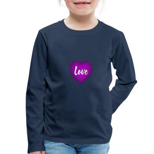 Love - T-shirt manches longues Premium Enfant