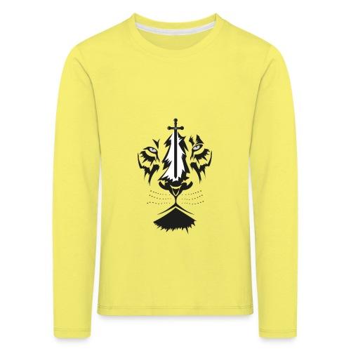 Lyon cruz - Camiseta de manga larga premium niño