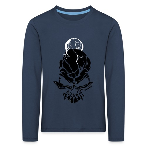F noize fronte png - Kids' Premium Longsleeve Shirt