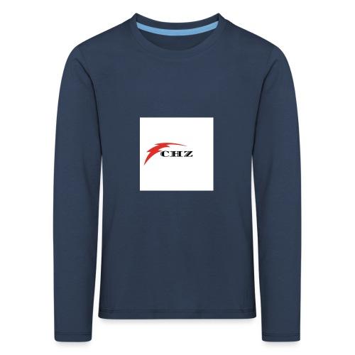 CHZ LAZER - Maglietta Premium a manica lunga per bambini