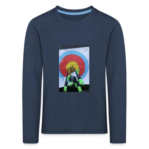 F1C5C2F0 28A3 455F 8EBD C3B4A6A01B45 - Premium langermet T-skjorte for barn