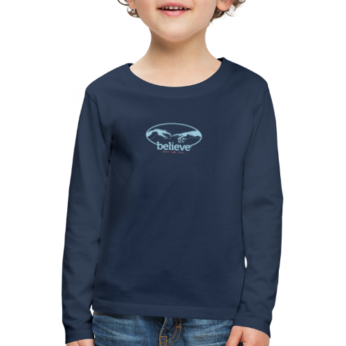 Believe - Kinder Premium Langarmshirt