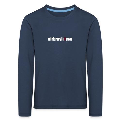 Airbrush - Kinder Premium Langarmshirt