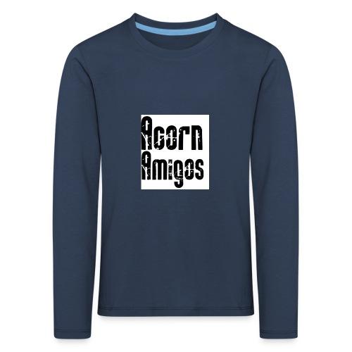 acorn amigos badge - Långärmad premium-T-shirt barn