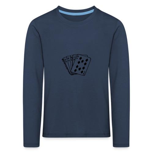 Royal Flush - Kinder Premium Langarmshirt
