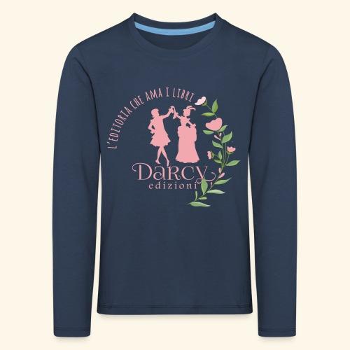 Darcy Edizioni - Maglietta Premium a manica lunga per bambini