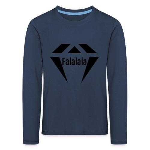 J.O.B Diamant Falalala - Kinder Premium Langarmshirt