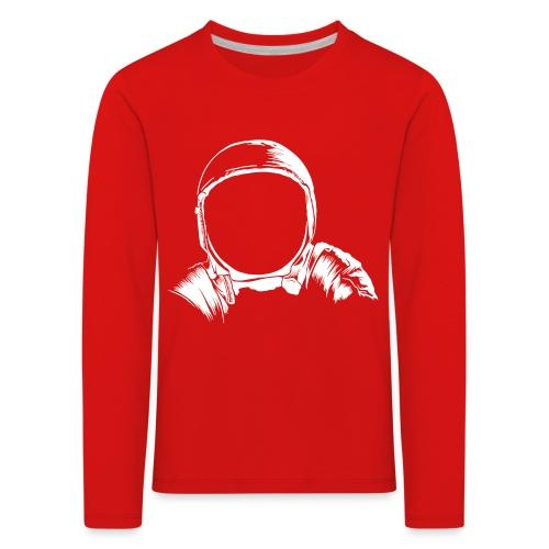 Astronauten Helm - Kinder Premium Langarmshirt