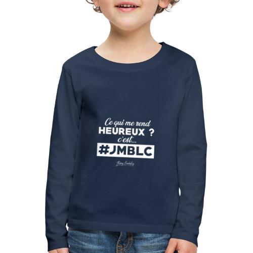 Ce qui me rend heureux c'est ... - T-shirt manches longues Premium Enfant