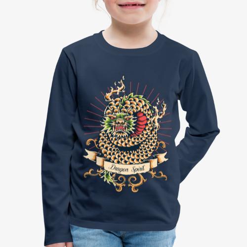 Drachengeist - Kinder Premium Langarmshirt