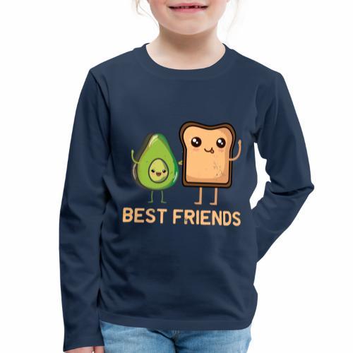 Avocado-Toast Shirt für Avocado-Liebhaber - Kinder Premium Langarmshirt