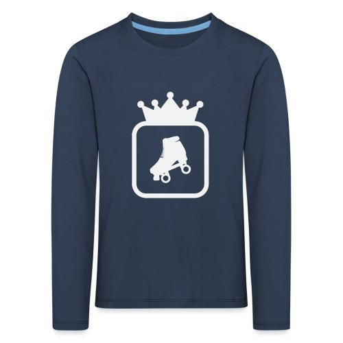 Speedskater Skating Krone - Kinder Premium Langarmshirt