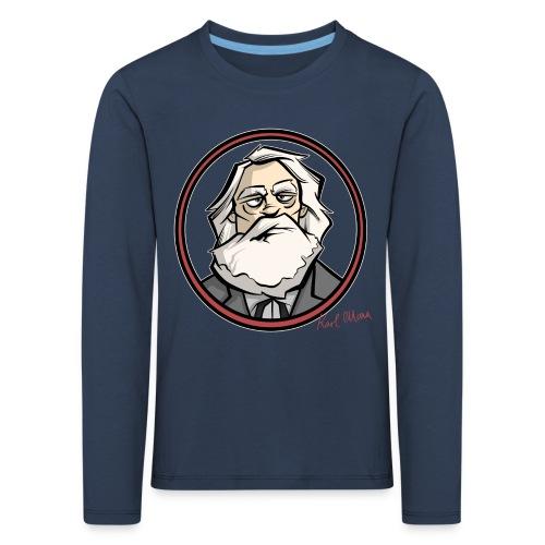 Karl Marx - Kinder Premium Langarmshirt