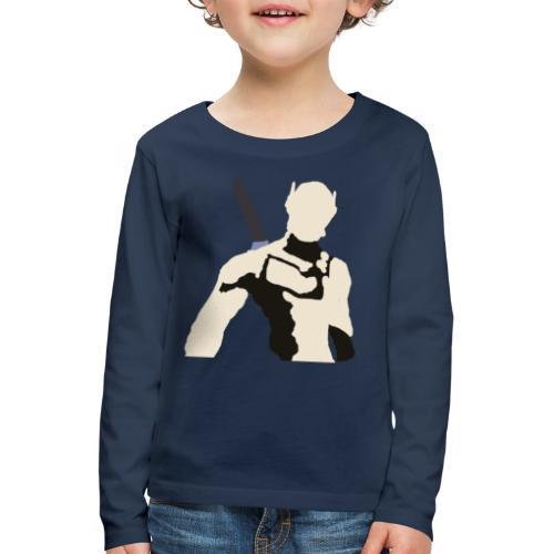 Genji - Koszulka dziecięca Premium z długim rękawem